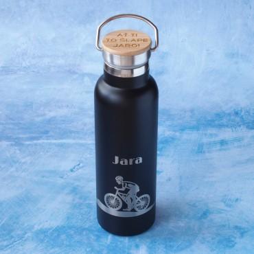 Originální a praktický dárek pro kamaráda cyklistu s potiskem dle vlastního návrhu na eshopu
