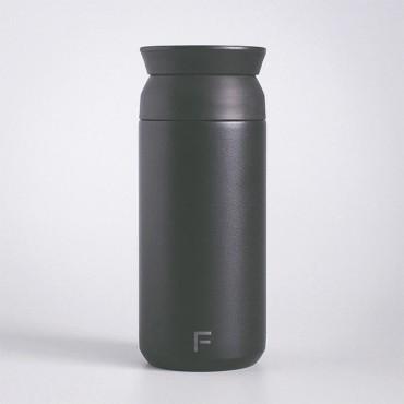 Černý nerezový termohrnek Travel Tumbler 350 ml s potiskem /gravírováním/ monogramu dle Vašeho návrhu online na eshopu